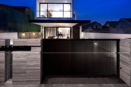 Desain Pagar Unik Rumah Mewah dan Minimalis Desain Pagar untuk Rumah Mewah