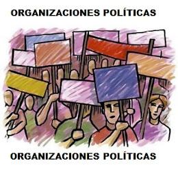 ORGANIZACIONES POLÍTICAS Y SINDICALES