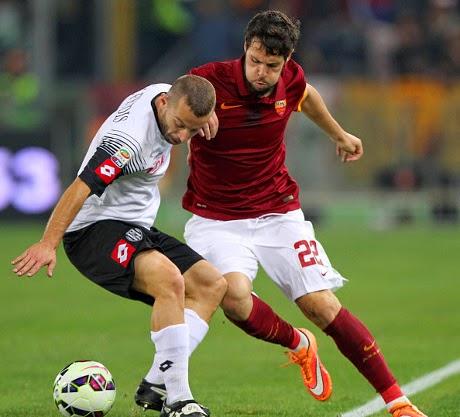 Roma Taklukkan Cesena 2 Gol Tanpa Balas
