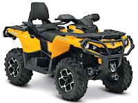 2013 Can-Am Outlander MAX XT 650 ATV pictures 3
