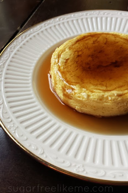 French Toast Egg Puff. A delicious low carb breakfast!