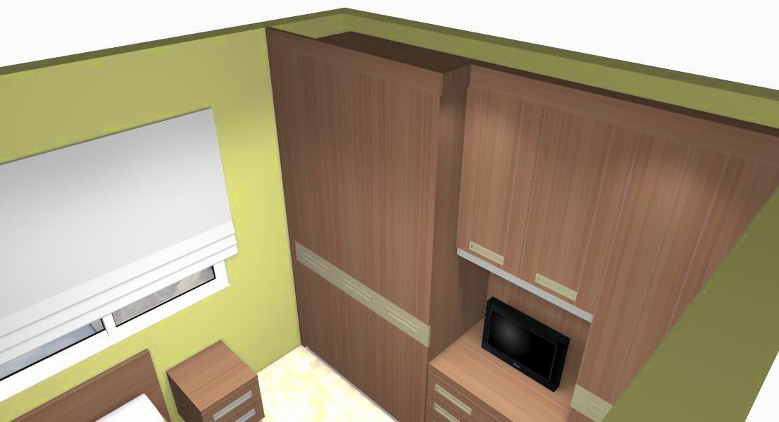 Fotos muebles empotrados pared for Revestimiento de armarios empotrados