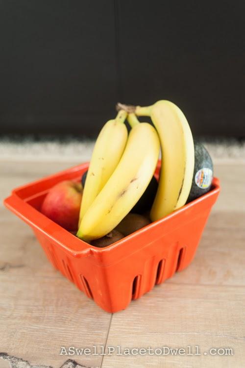 Ceramic fruit bowl from Urban Barn