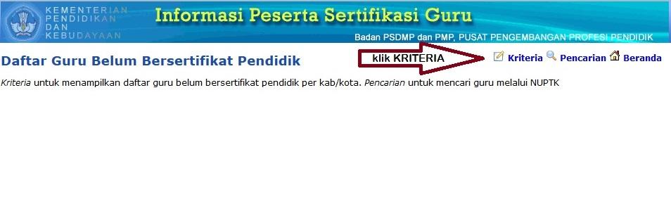 buka website http sergur kemdiknas go id sg13 2 klik pada menu