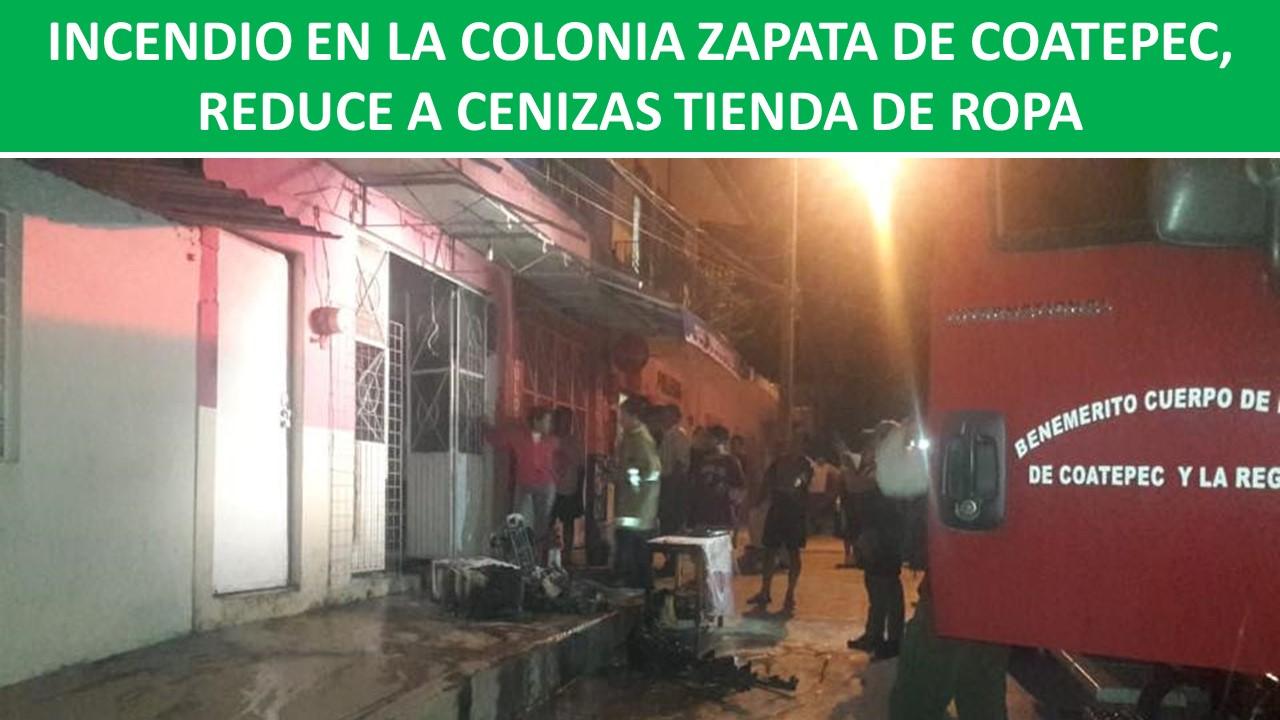 REDUCE A CENIZAS TIENDA DE ROPA