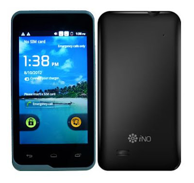 iNo One Non Camera Smartphone With Dual Sim & 3G Support.