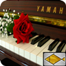 classical piano relax music app logo