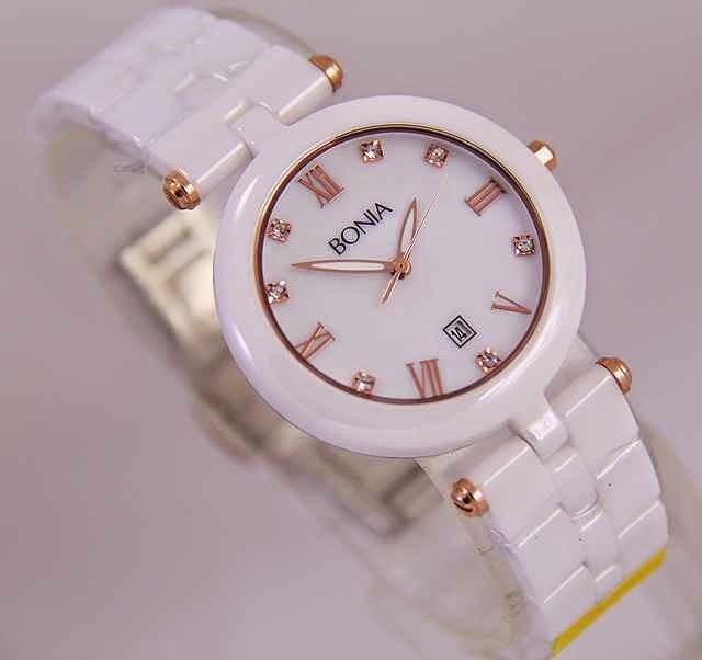 Bonia Classic Putih