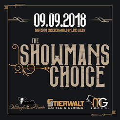 2018 The Showman's Choice Online Sale