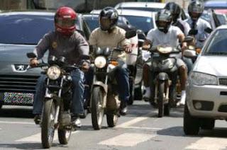 Brasília já tem mais de 157 mil motos e número de acidentes não para de crescer