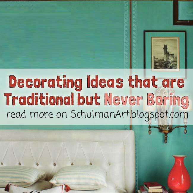 Traditinal Peacock Home Decor | Decorating Ideas That Are Never Traditional  | Read More U003eu003e