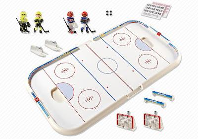 JUGUETES - PLAYMOBIL Sports & Action   5594 Hockey Arena   Pista de Hielo   Producto Oficial 2015   Edad: +5 años  Comprar en Amazon