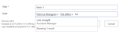 SharePoint Client People Picker