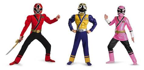 Power Rangers Super Samurai Halloween Costumes! CONTEST ~OVER ...