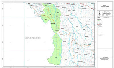 Peta Wonotunggal Batang