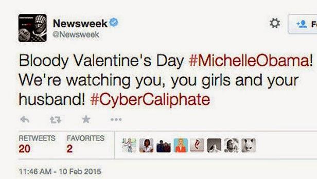 "Bajak Twitter ""Newsweek"", Hacker Ancam Obama"