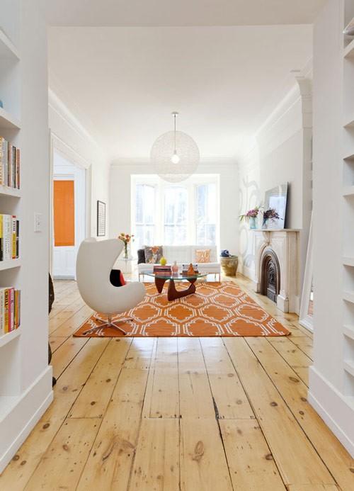Pine wide plank flooring my fave frog hill designs blog - Wooden flooring room interior ...
