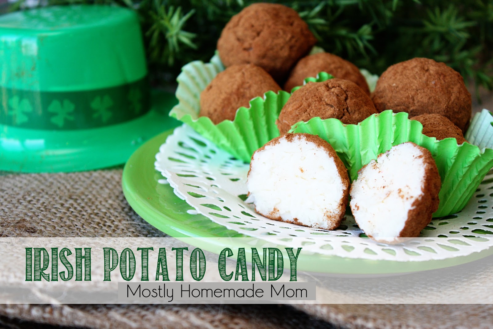 Irish Potato Candy | Mostly Homemade Mom