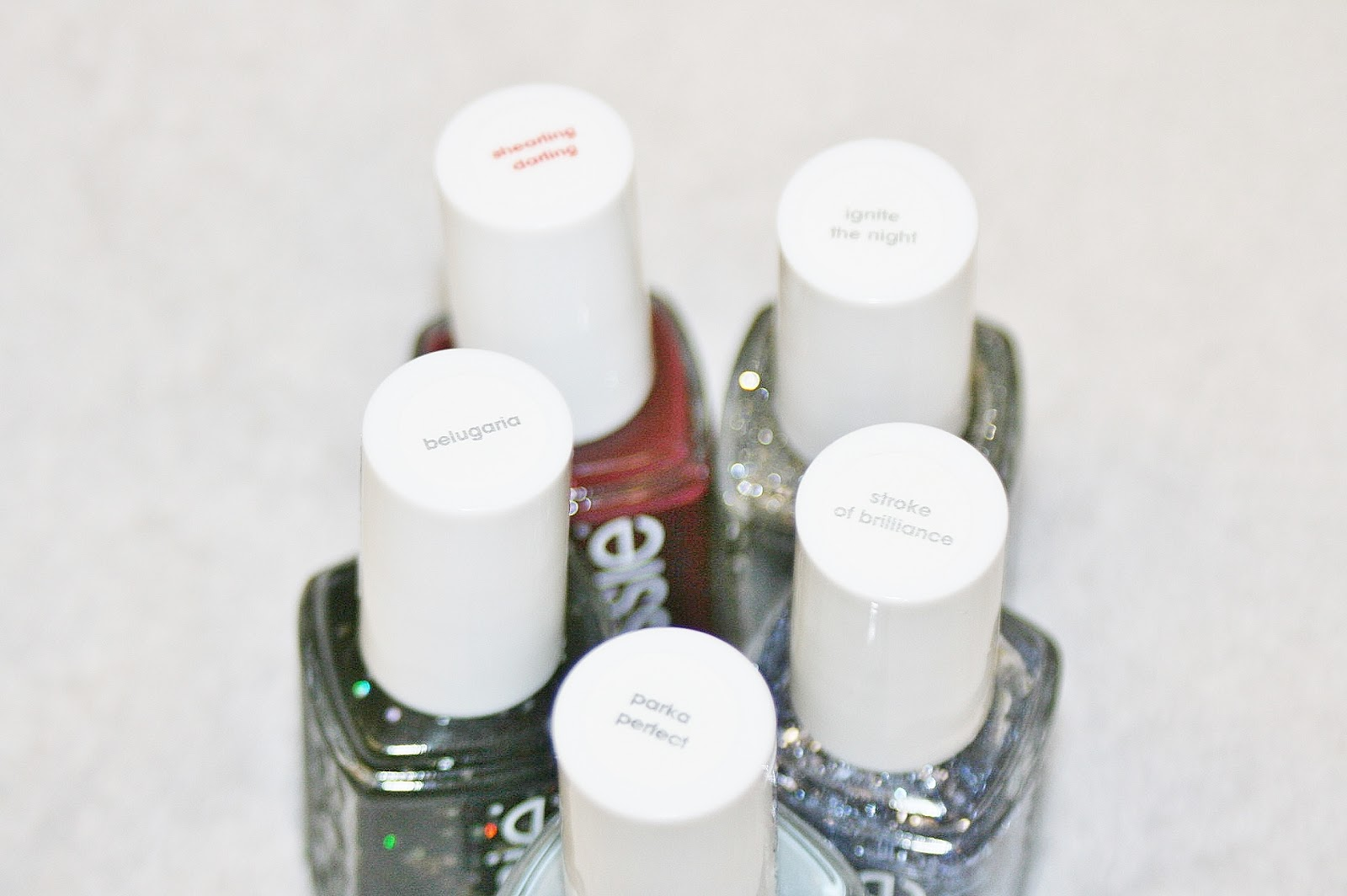 Winter Essie Polishes