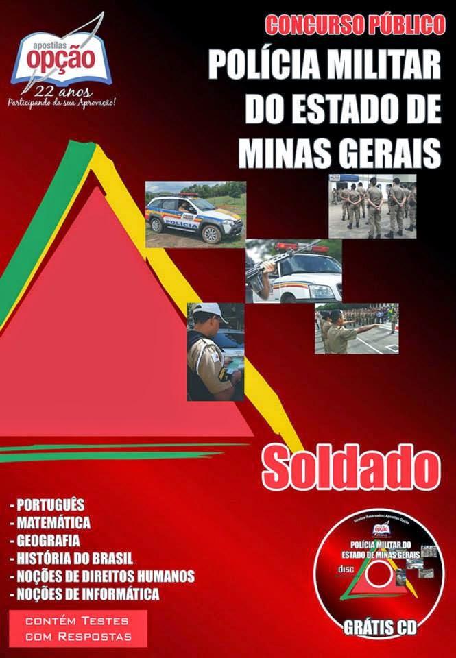 Apostila Concurso PM/MG - Soldado