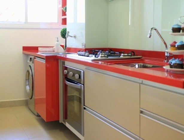 decoracao cozinha e area de servico integradas: de decoração! – Decor Salteado – Blog de Decoração e Arquitetura