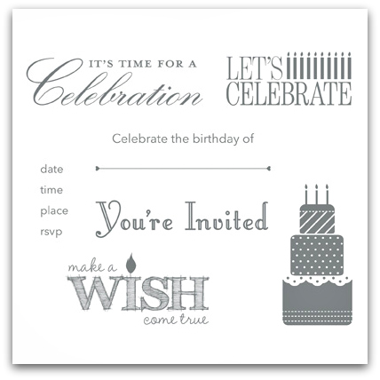 Stampin' Up! Make a Wish Stamp Brush Set