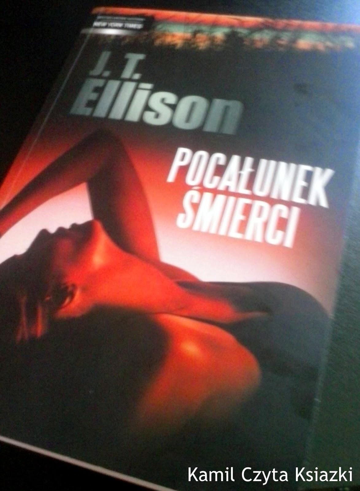 J. T. Ellison Pocałunek Śmierci Mira Taylor Jackon porucznik kryminał typowy pączki sprawa dochodzenie morderca tenis porno narkotyki gwałty zboczeńscy opisy