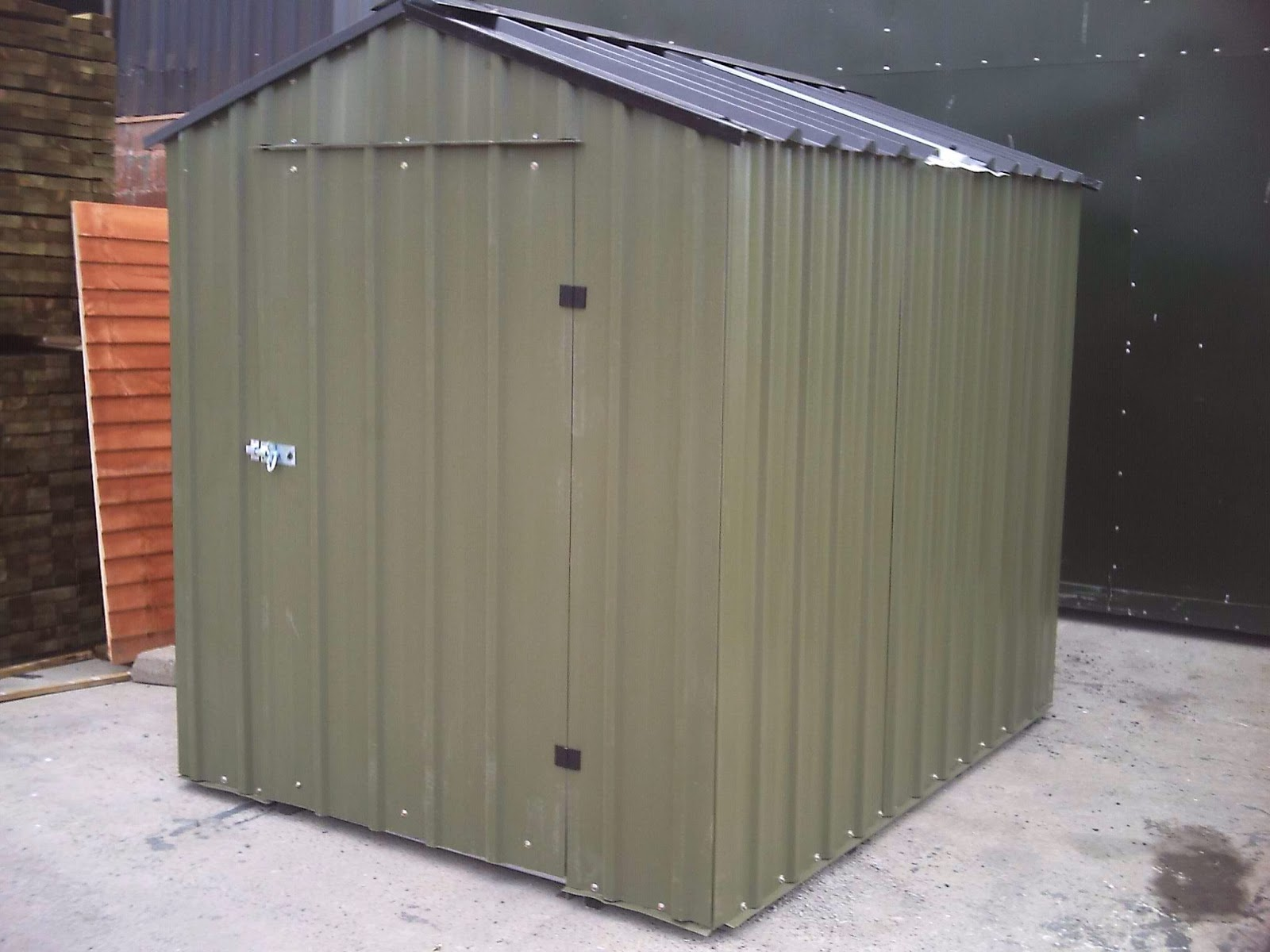 Steel buildings steel workshops cheap metal sheds for Inexpensive sheds