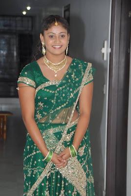 amrutha valli in saree hot photoshoot