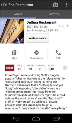 Google+ Local – lokale Informationen kurz und bündig auf dem Mobiltelefon