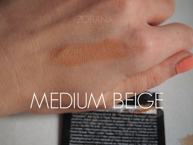 avon podkład foundation swatch medium beige