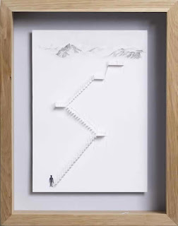 Contoh Karya Seni Unik dari Kertas