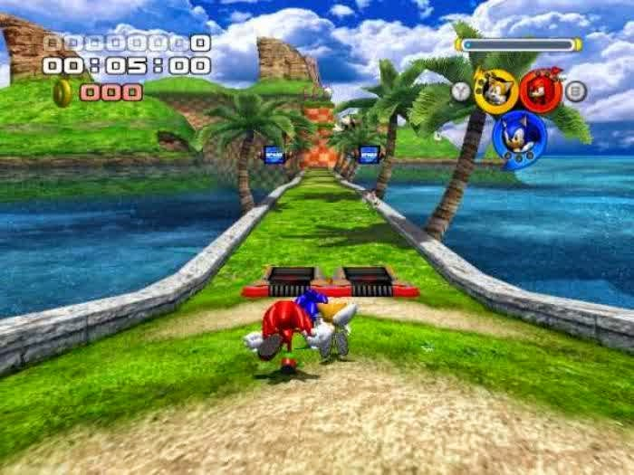 Free download Sonic Heroes for PC