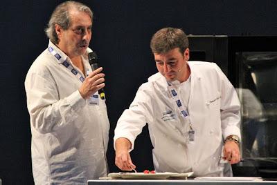 Chef Fernando del Cerro en Gastronomika 2012. Blog Esteban Capdevila