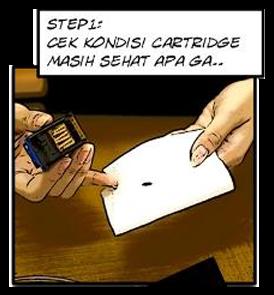 Cara Membersihkan Cartridge Printer