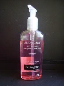Neutrogena gel nettoyant pamplemousse rose
