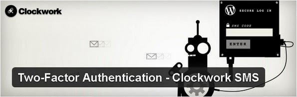 Clockwork SMS authentication plugin for WordPress