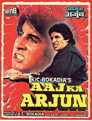 Aaj Ka Arjun 1990 Poster