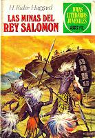 Portada del libro las minas del rey salomón pdf epub gratis