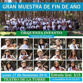 Se viene la muestra de Fin de Año de la Orquesta Infanto Juvenil de Pinamar