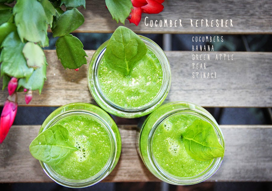 Cucumber Refresher Smoothie