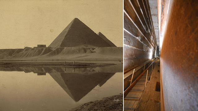 diaforetiko.gr : anekshghta H Μεγάλη Πυραμίδα έχει κρυφές πόρτες!