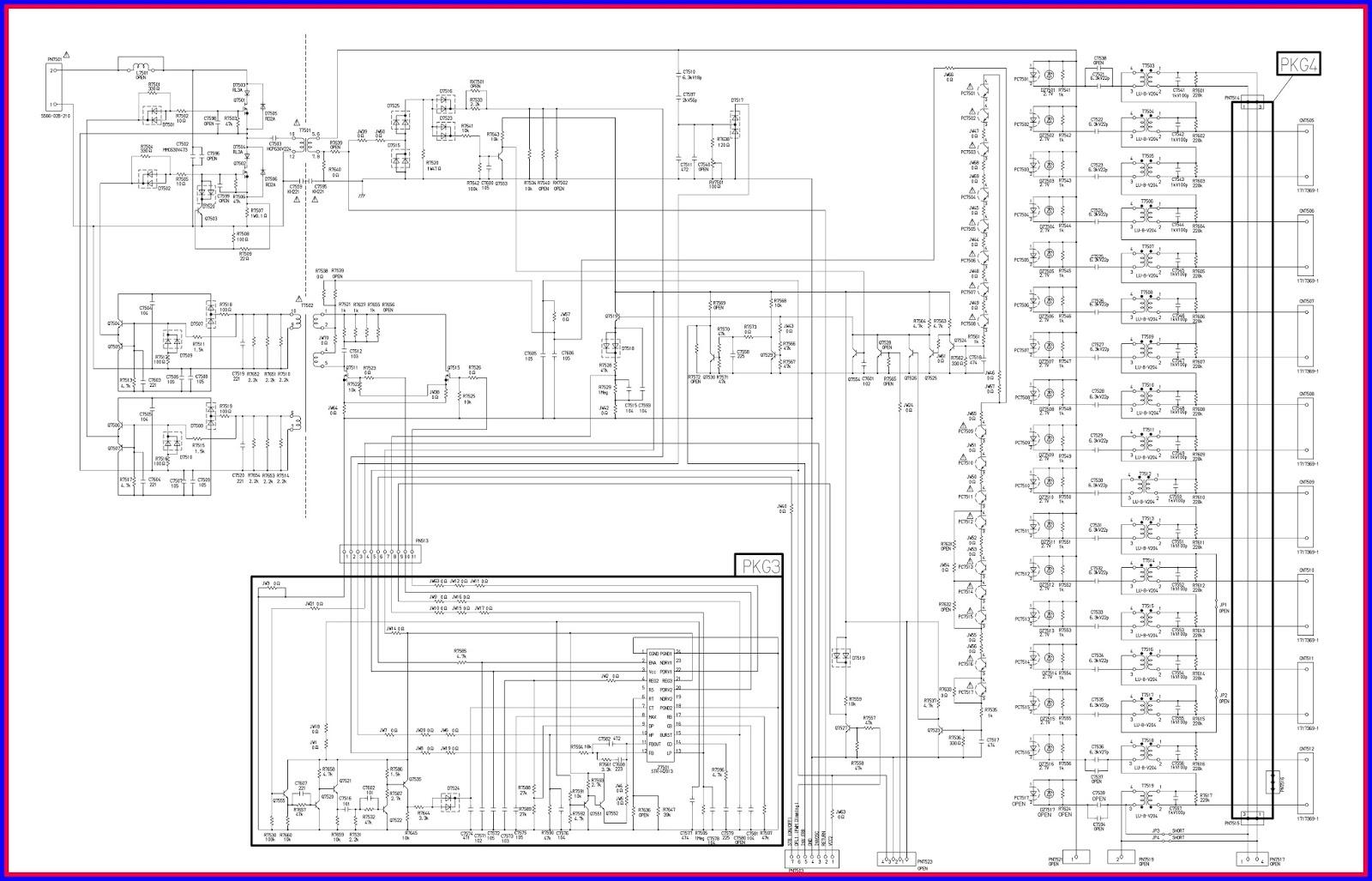 Electronic equipment repair centre sharp lc 26p50e lc 32p50e lc inverter circuit asfbconference2016 Gallery
