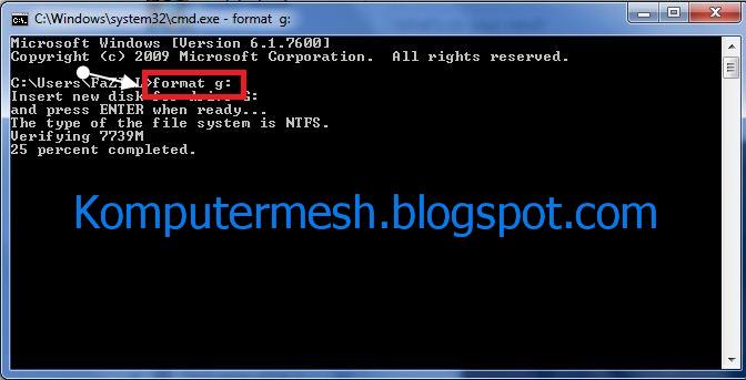 Tendang Virus Komputer Dari Flashdisk Secara Permanent