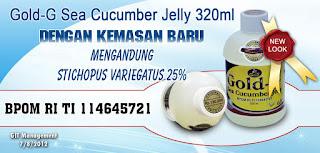 Agen Jelly Gamat Gold G Yogyakarta