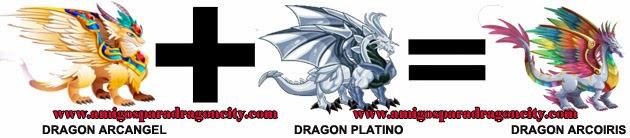 como hacer el dragon arcoiris de dragon city formula 3