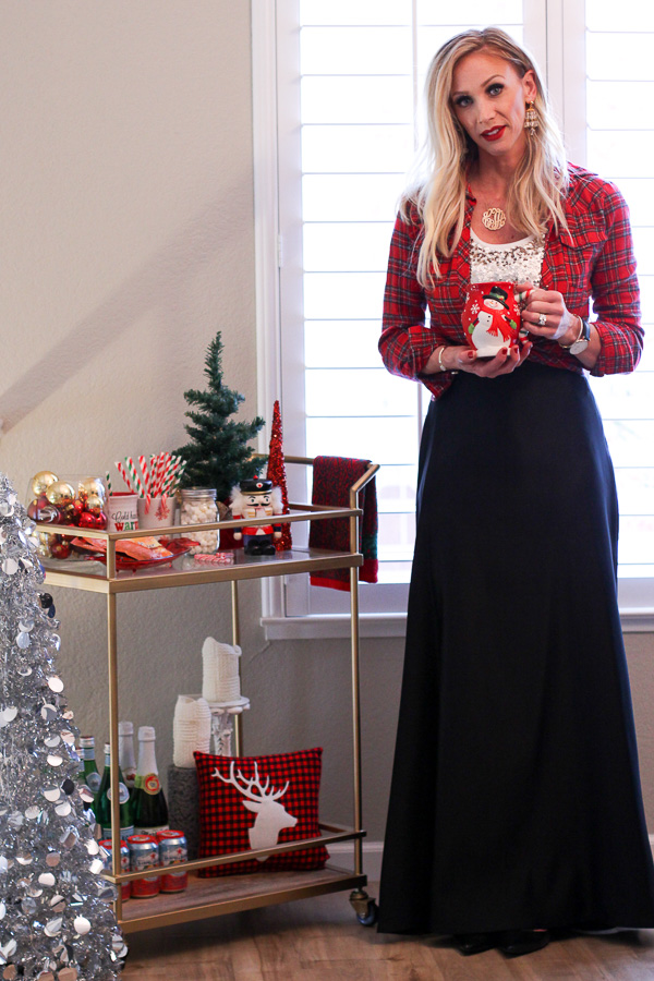 holiday hosting decor style