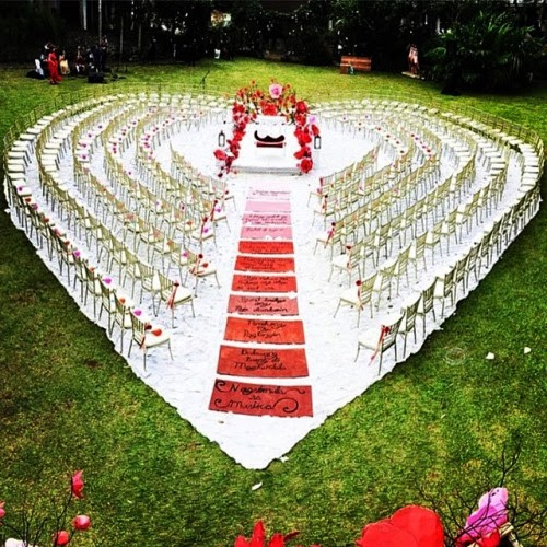 Outdoor Nigerian Wedding Decor