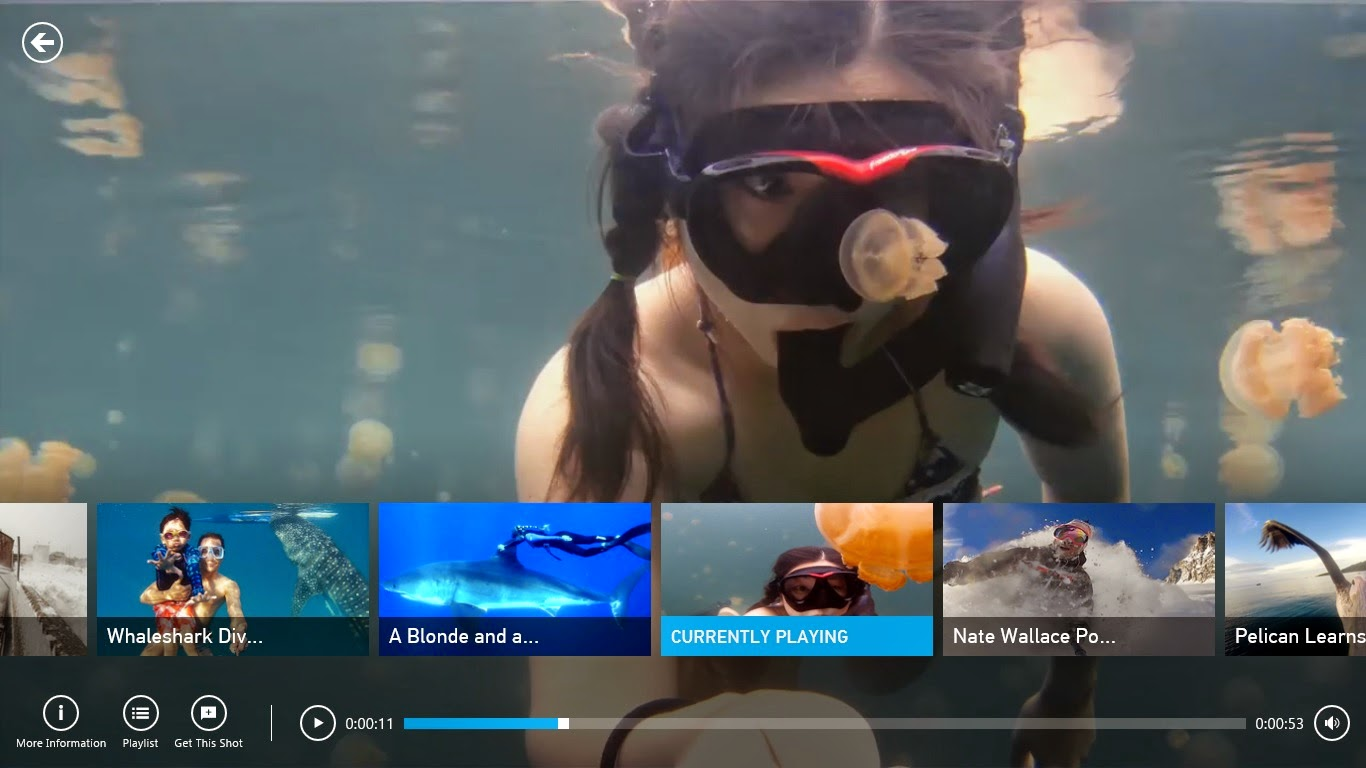 Windows 8 GoPro