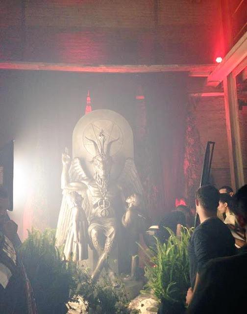 baphomet sculpture detroit michigan